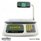 QUATTRO Timbangan Buah Elektronik + Harga Precise Pricing Digital Scale 30 Kg FPS030B/P Tiang