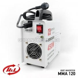 H&L Mesin Travolas Welding Machine DC IGBT Inverter Smart Series 450 Watt MMA 120