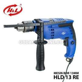 H&L Mesin Bor Listrik Electric Impact Drill 13mm HLD 13RE