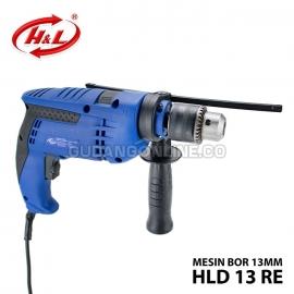 H&L Mesin Bor Listrik Impact Drill 13mm HLD 13RE