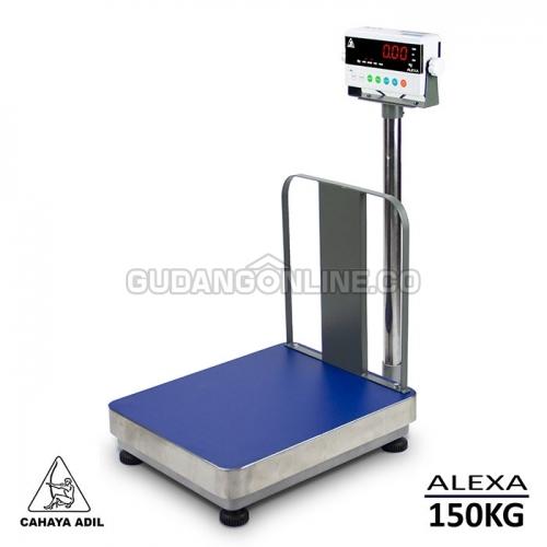 ALEXA TM-A 4050 150kg Cahaya Adil Electronic Digital Scale Timbangan Digital + Pagar