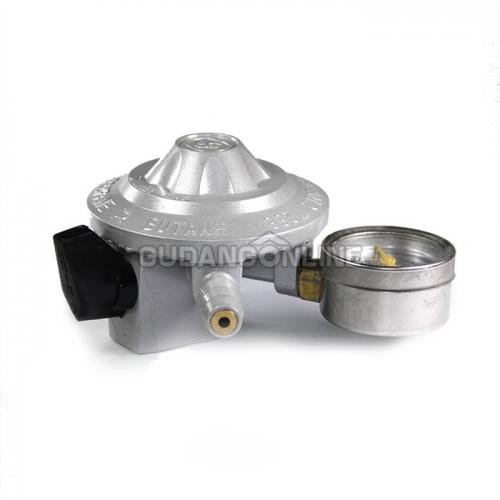 Winn Gas Silver Regulator Gas Low Pressure Tekanan Rendah Ampere Meter W288 W 288 M